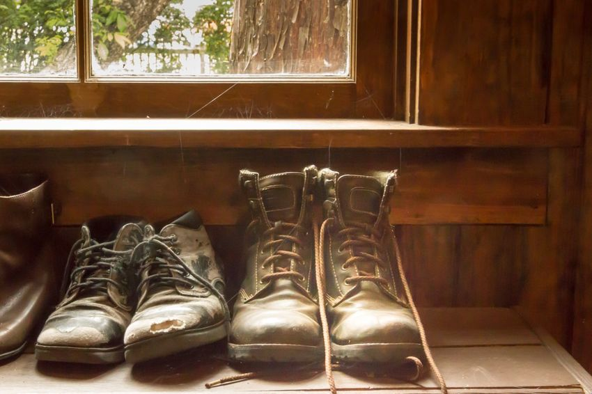 Indoors  Shoe No People Pair Day Close-up Things That Go Together Window Window Frame Vintage Style Retro Styled Old-fashioned Ladyphotographerofthemonth Cozy Place Cozy At Home Old Fashion Old Fashion Style Home Interior Indoors  Old Shoes Vintage Shoes Still Life