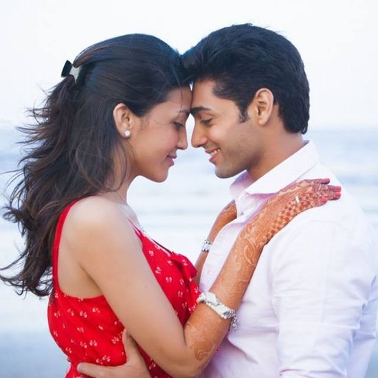 Ruslaan Mumtaz & Nirali's pre-Wedding & Wedding memories coming up next on Strange Sadhu Weddings' fb page and official website Jlz Ruslaan Wedding Beauty Brides Coloursofindia Incredibleindia Indianactors Celebrity Beach Love