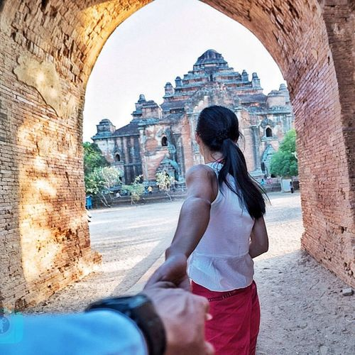 Take me to The most sinister king's temple in Bagan, The Dhammayangyi Temple built by King Narathu CopyCatCustard Followme Takemeto Followmeto Dhammayangyi Bagan Sweet Photooftheday Groupselfie Instagood Explorewithmeto