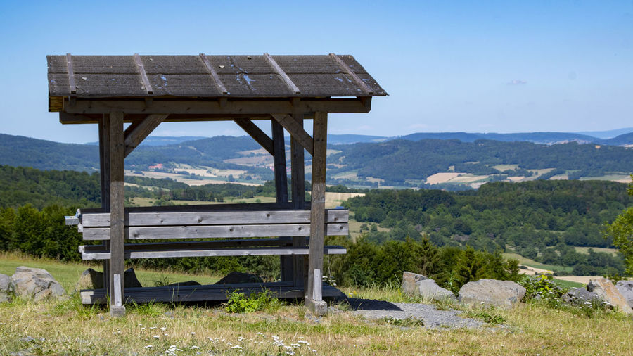A bench with a