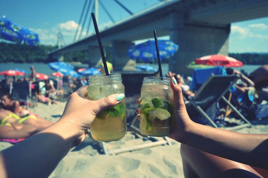 Mojito Cheers Enjoying Life Bae