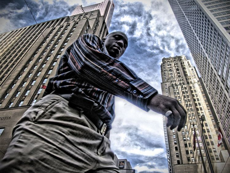 Man and Skyscrapers Black Man Afro American Scyscraper People Photography Street Photography Look Up What's Up High Buildings Taking Photos WHiTE WORLD