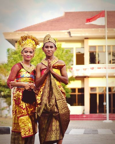 Indonesian culture, the anniversary of the independence of indonesia, Bali wedding dress, East Lombok West Nusa Tenggara :) Culture Indonesia_photography Baliculture
