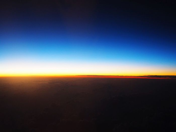 Airplane 地平線 Sunset Beautiful Sunset Olympus OM-D From An Airplane Window Airplaneview
