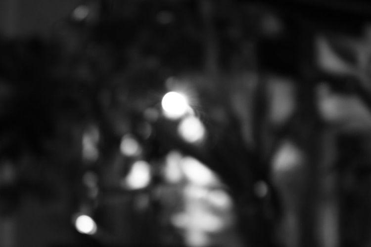 Dark Close-up Night Photography Blurred Visions Blackandwhite Photography Manila, Philippines Bokeh Lights 11.1.16