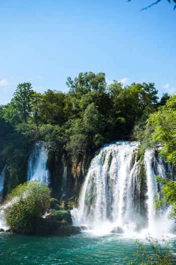 Nature Travel Traveling Beauty Beauty In Nature Beauty In Nature Falling Water Flowing Flowing Water Green Color Kravica, Bosnia & Herzegovina Kravice Land Motion Nature No People Outdoors Power In Nature Rainforest Scenics - Nature Tourism Travel Destinations Tree Water Waterfall