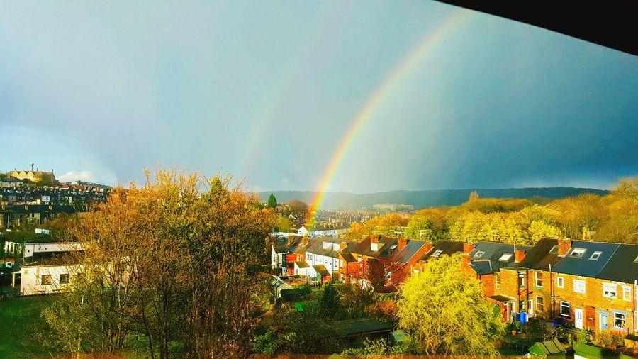 Rainbow Colors Rainbow Sky Rainbow🌈 Colorsplash Colourporn Sheffield Malinbridge Stannington Rivelin Valley Canonphotography Canon 70d Canon_photos Canon_official Samsungphotography Canon Sheffieldissuper Outside Best EyeEm Shot Bestshot