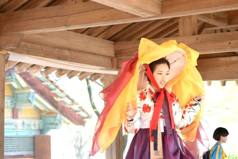 Hanbok. from