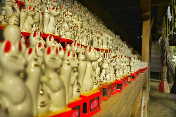 Inari Shine Tribute Folklore Shinto Shrine