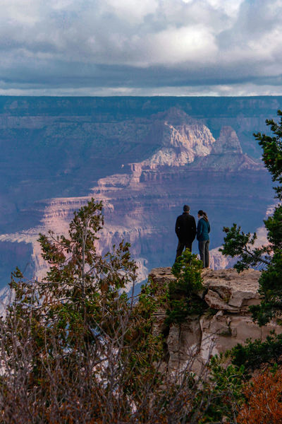 Cliff Colours Of Autumn Grand Canyon National Park Landscape_photography Rock Formation Scenics Sky And Clouds Standing The KIOMI Collection