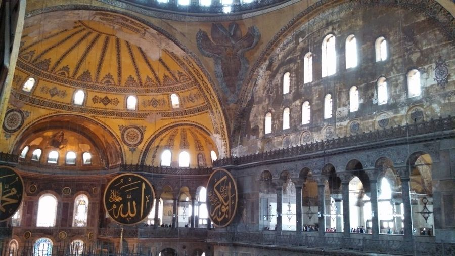 Istanbul Turkey Hagiasophia  Mosque AD532