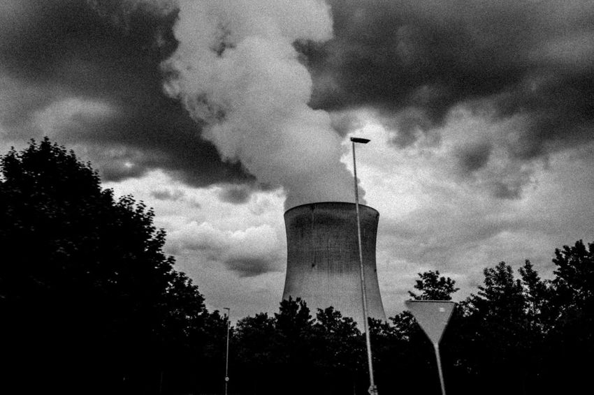 Air Pollution Cloud - Sky Day Environmental Conservation Low Angle View Nature No People Nuclear Nuclear Catastrophy Nuclear Power Plant Nuclear Reactor Outdoors Sky Tree