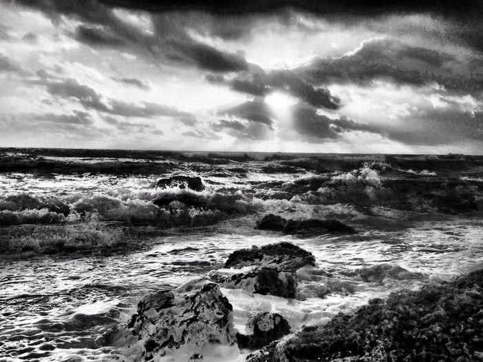 The rough with the smooth. NEM Clouds NEM Black&white AMPt_Nature
