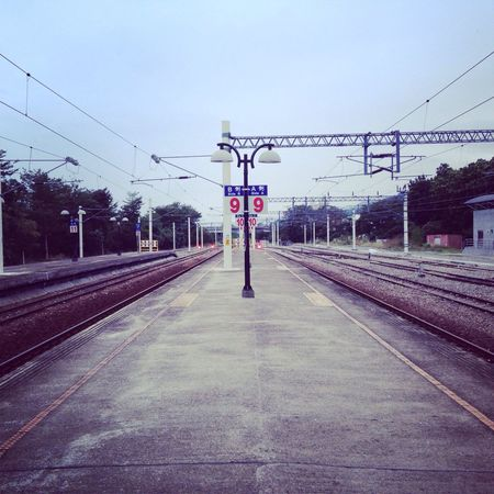 Taitung's train station, countryside with fresh air and retro feeling. Train Station Taiwan Traveling