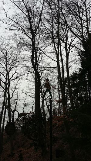 Springtime Spaziergang Figur Wanderer Woogtal Königstein