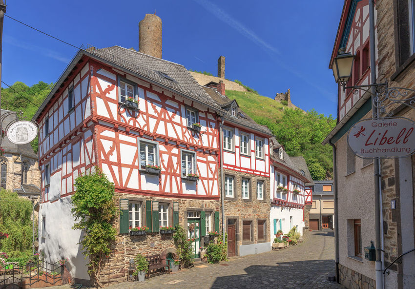 Old town Monreal Architecture Building Exterior City Day Eiffel Elz  Fachwerk House Koblenz Mayen Monreale No People Old Buildings Outdoors Picturesque Town