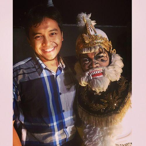 With Hanoman