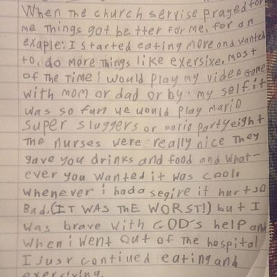 Jason 's summary of his Hospital stay. Makes me Cry . Seattlechildrenshospital seattlechildrens hearttransplant heartdefect pneumonia healed