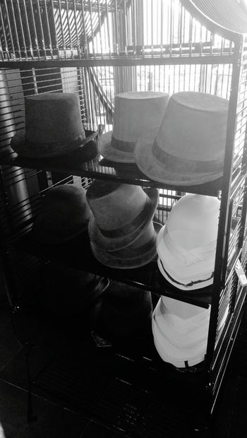 Indoors  Business Finance And Industry Store No People Working Factory Day Metal Industry Spiral Staircase Hut Hute Hat Hats
