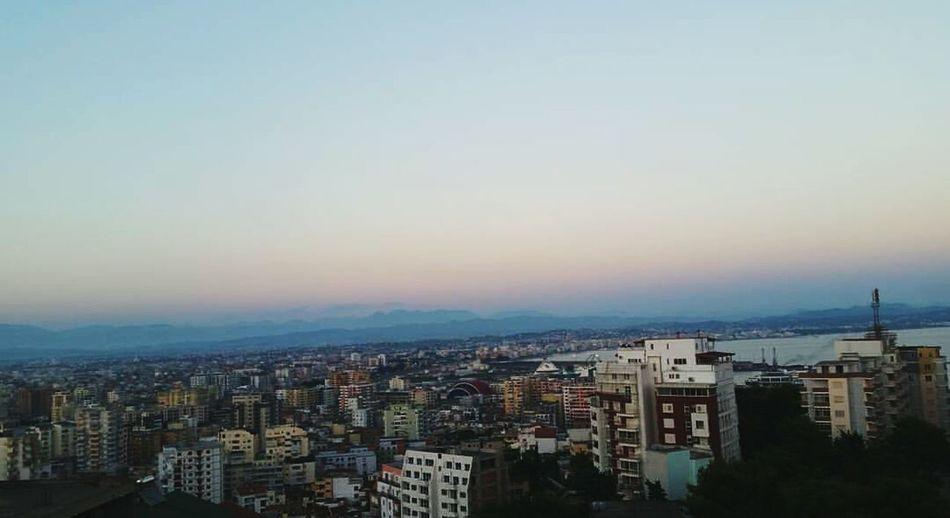 Relaxing View Sundown PhonePhotography LovelyAlbania Durres Albania