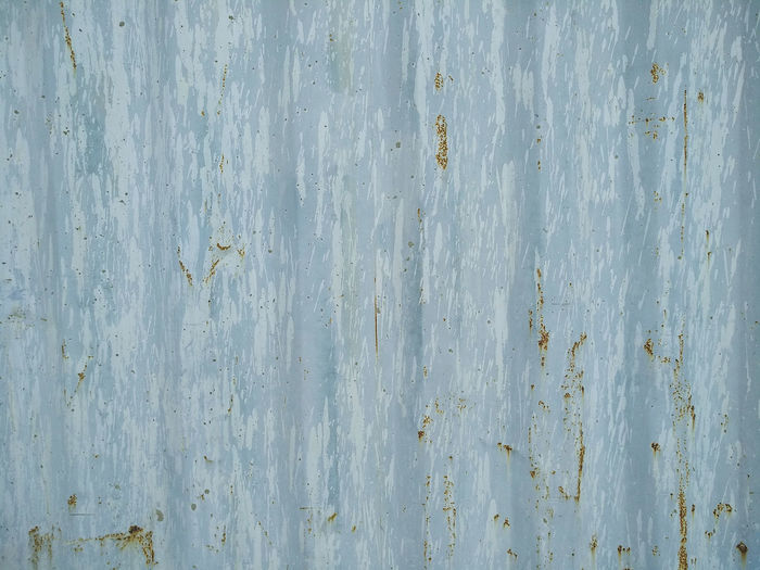 Backgrounds Full Frame Textured  Weathered No People Wood - Material Pattern Old Wall - Building Feature Close-up Day Metal Rough Built Structure Rusty Architecture Outdoors Barrier Damaged White Color Sheet Metal Wood Grain