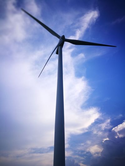 Windmill In San Lorenzo, Island Of Guimaras, Phikippines