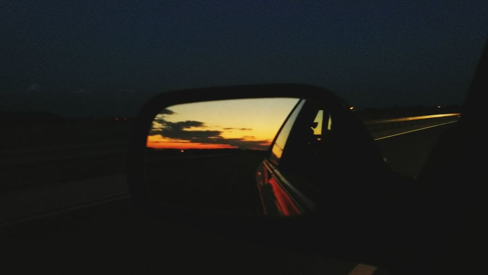 On The Way Sky And Clouds Subaru Impreza Gc8 Adventure Club Meinautomoment Sun Goes Down