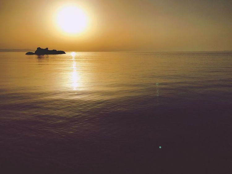 Water Sunset Sun Sea Scenics Outdoors