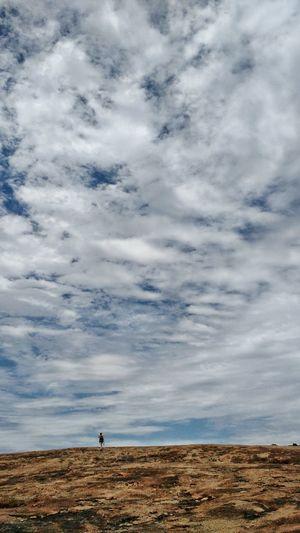 Dramatic Landscape Outdoors Landscape Day Cloud - Sky One Person Walking Nature Dramatic Landscape