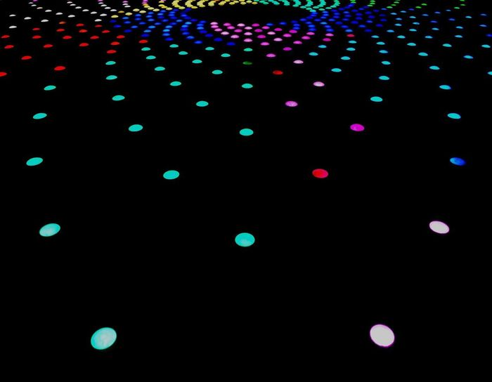 Decoration Abstract Multi Colored Close-up LED Outdoors Pattern Colors Colors and patterns