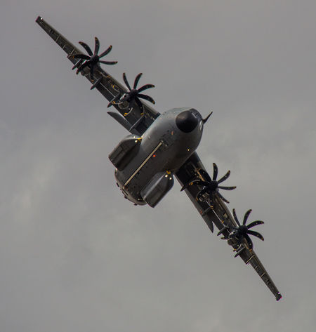 A-400M Airplane Airshow Flying International Air Tattoo Low Angle View Military Military Airplane Popelar Royal International Air Tattoo Sky