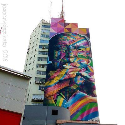 Oscar Niemeyer by @kobrastreetart. Graffiti Graffitiart Art Streetart UrbanART Streetphotography Urban Streetphoto_brasil Colors City Avpaulista Saopaulo Brasil Photograph Photography Flaming_abstracts Mundoruasp Olhonaruasp