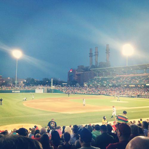 Fun night of baseball.