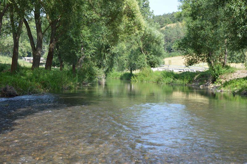 Bódva Stream Hidvégardó Hungary