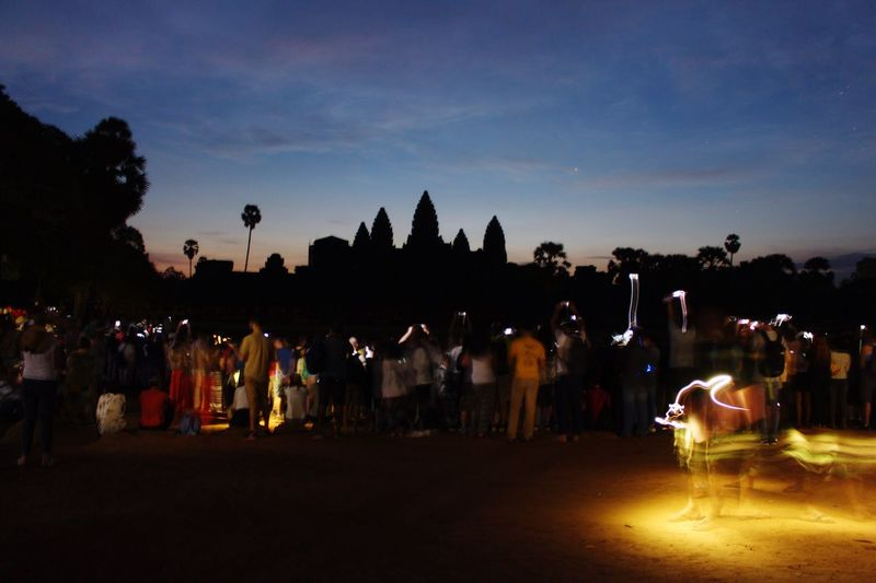 Cambodia Backpacking Angkor Wat Sunset People Nature Good Times EyeEm Nature Lover MyWildLive