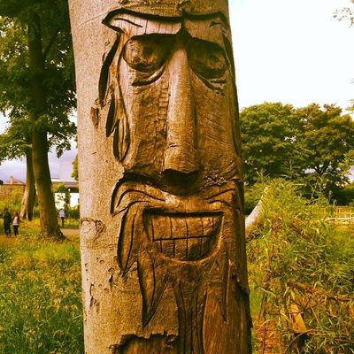 Mossley Mill Walk Newtownabbey Ireland Totem