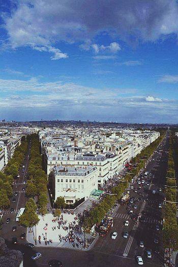 Taking Photos Arc De Triomphe De L'Étoile Paris