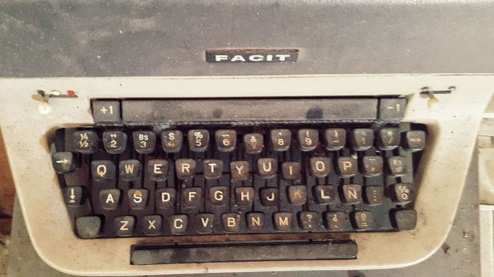 Good luck trying to install this keyboard on your smartphone or tablet. Classic Close-up Key Keyboard Old Outdated Outdated Tech Qwerty Still Life Typewriter Vintage