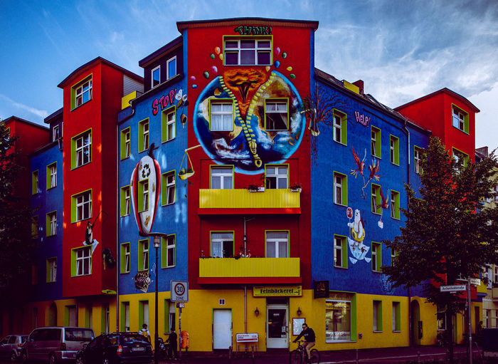 Mural in