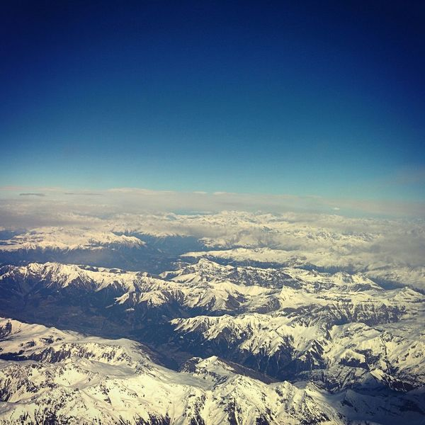 Alpen Aples Airplane View Airline
