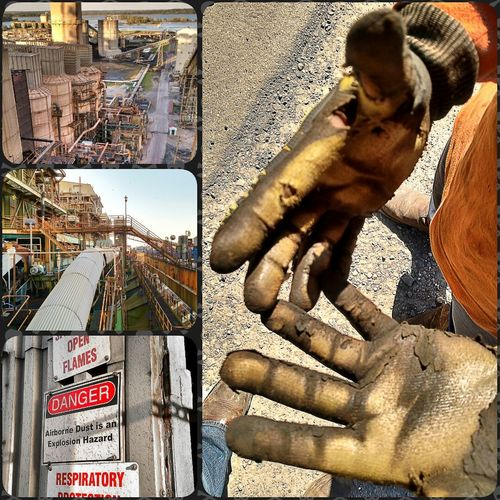 My work isn't glamorous, hardly safe, and the hours change daily. That being said it pretty rewarding to know that the work I do helps power Texas! That's Me Getting Inspired Weldporn Getting Paid To Do What I Love Hands At Work America Coal Burning Power Plant