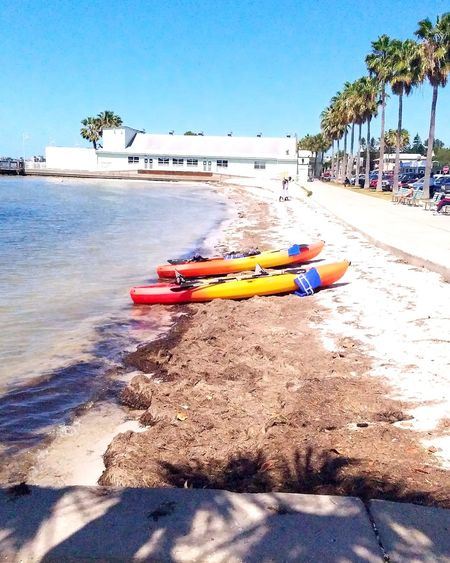 Beach Sand Sea Water Day Outdoors Sky Sunlight Nautical Vessel Summer Nature Shadow Vacations No People Horizon Over Water Tree Jet Boat Let's Go. Together. Sommergefühle