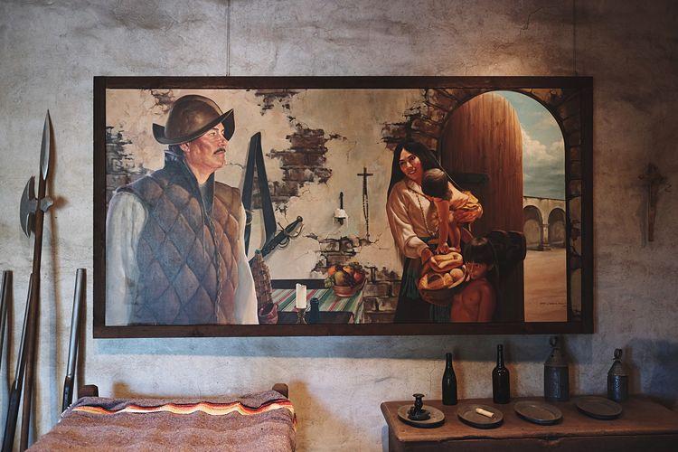 The old world. Mission San Juan Capistrano, California. San Juan Capistrano Open Edit