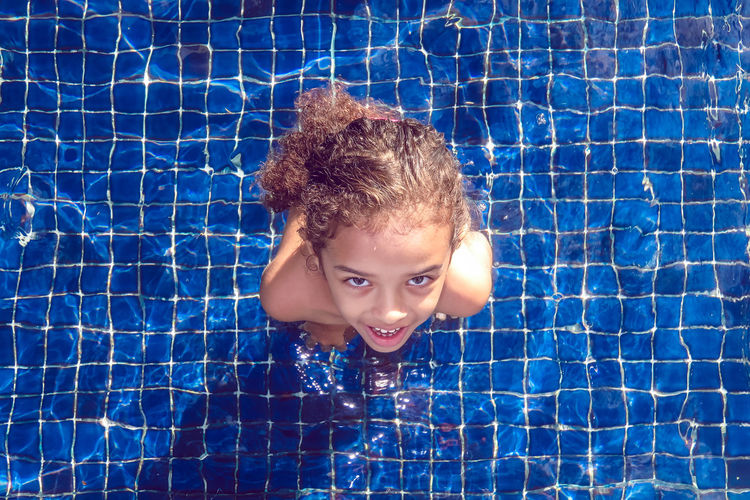 Child's play Child Childhood Children Only Close-up Day Headshot One Girl Only One Person Outdoors People Portrait Summer Swimming Pool Vacations Live For The Story Go Higher A New Perspective On Life