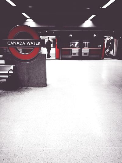 Canada Water Commuters Red London Notes From The Underground Commuters Andrographer Canada Water