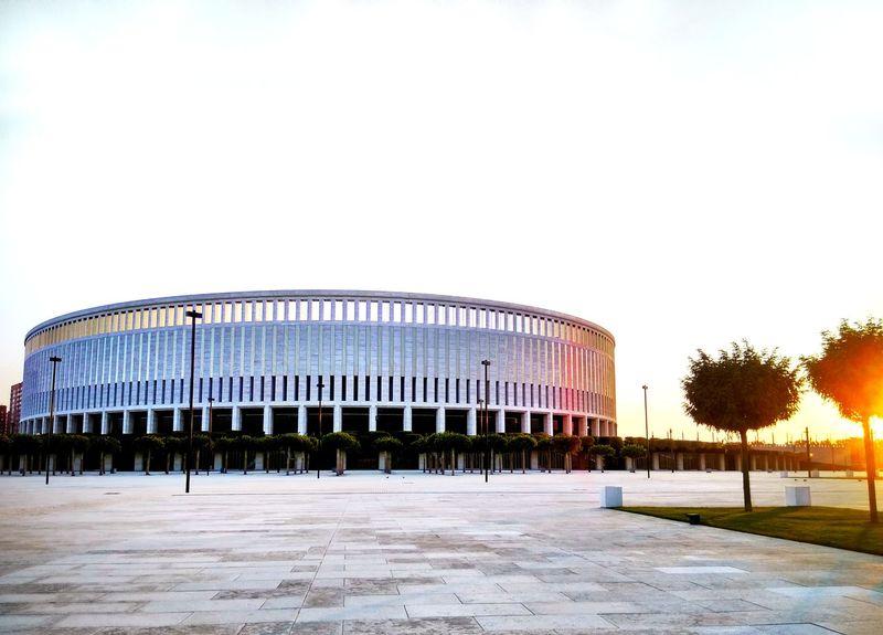 tatianakipka Stadium Krasnodar Russia Tree Sky Architecture Built Structure