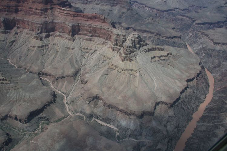 Aerial View Of Grand Canyon National Park