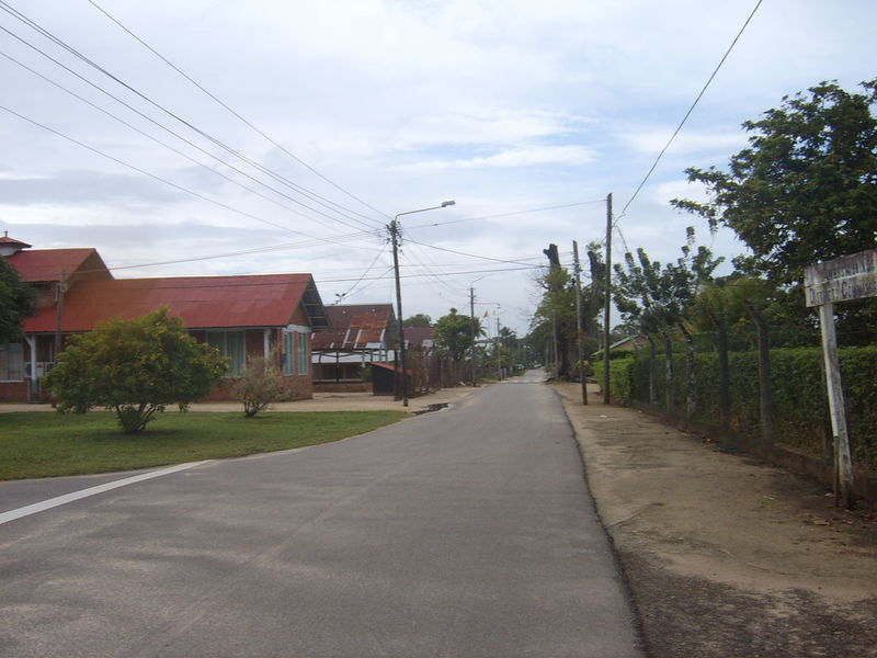 District Saramacca in Suriname Built Structure Cable Cloud Cloud - Sky Country Road Day Diminishing Perspective Electricity  Electricity Pylon Empty Grass Long Nature No People Outdoors Power Cable Power Line  Power Supply Road Sky The Way Forward Tree Vanishing Point