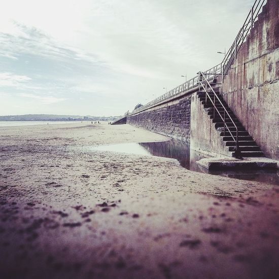 Old photo... Beach Sky Cloud - Sky Outdoors Day Sea Water No People Nature Sand Art Student Life Art Student Student Art Student Swansea Swansea City Dayout Steps Steps To Beach EyeEmNewHere The Great Outdoors - 2017 EyeEm Awards Live For The Story