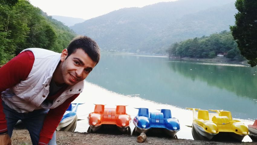 Hi! amasya borabay lake Taking Photos TURKEY
